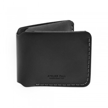 Horizontal Bifold Wallet in Black