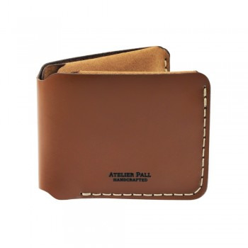 Horizontal Bifold Wallet in Brown