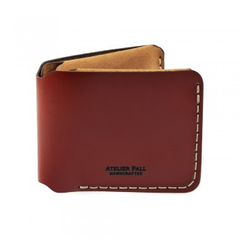 Horizontal Bifold Wallet in Burgundy