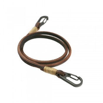 Leather chain for wallets