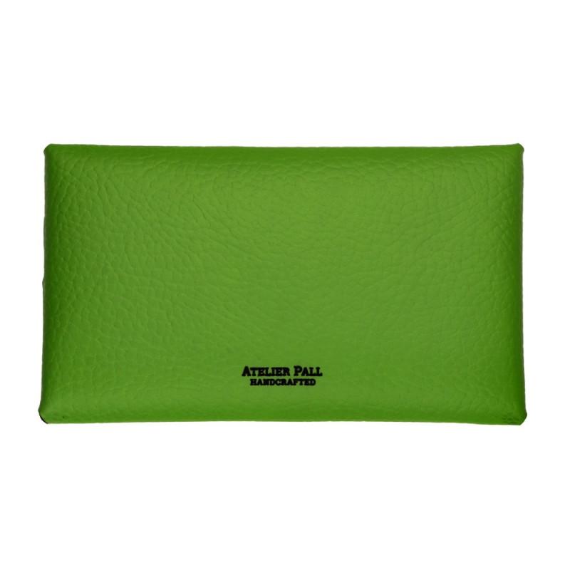 Personalized green wallet for women