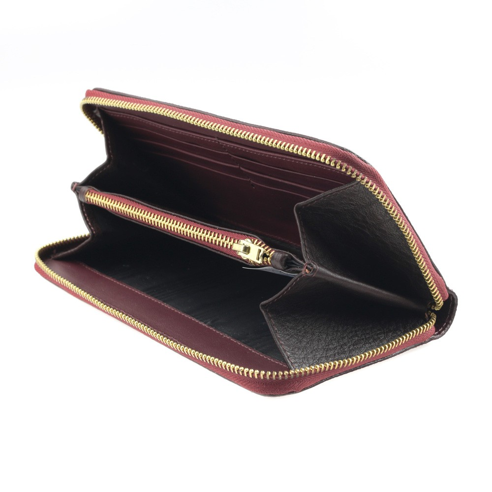 golden zipper wallet