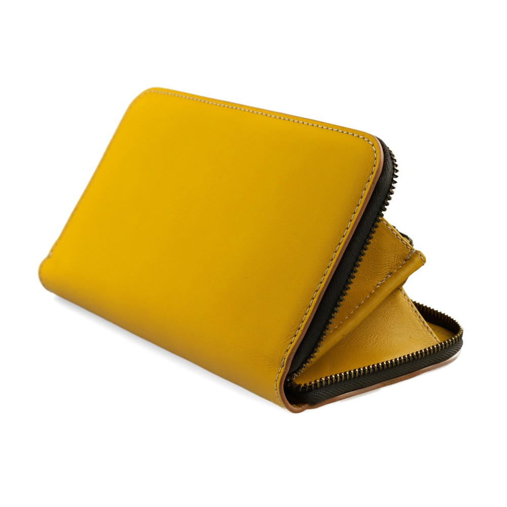 Women yellow purse
