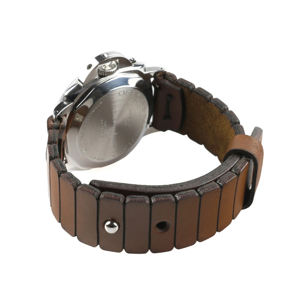 Link Watch Strap in Brown