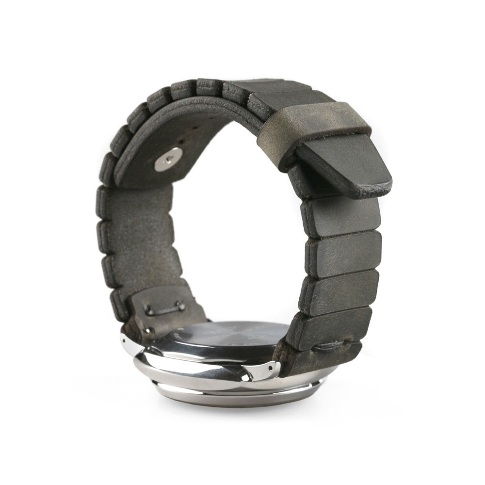Tactical watch strap in gray