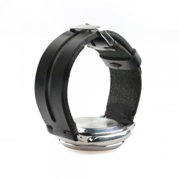 Groove Watch Strap in Black