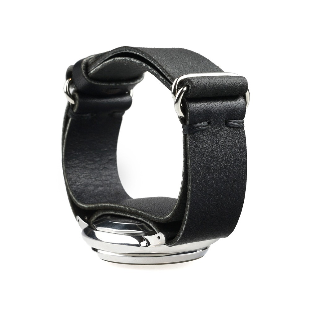 Military  Watch Strap in Black