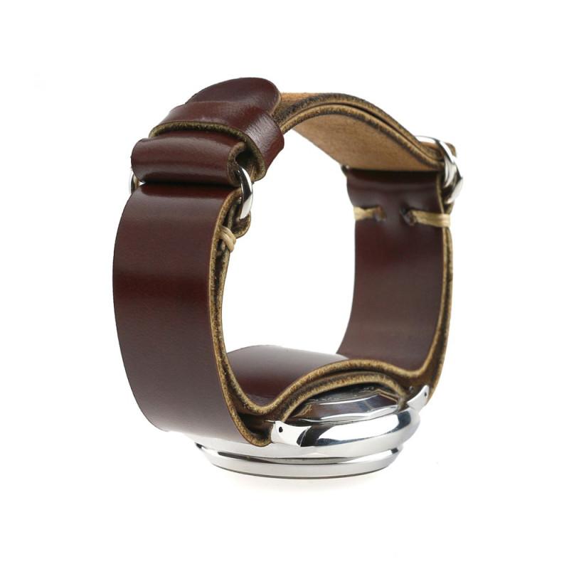AtelierPall Watch Strap in Burgundy