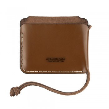 Chain Wallet in Brown