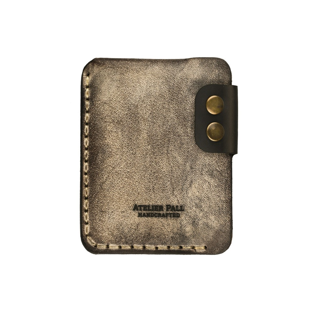 Double snap atelierpall wallet