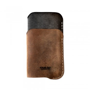iPhone Card Sleeve in Brown