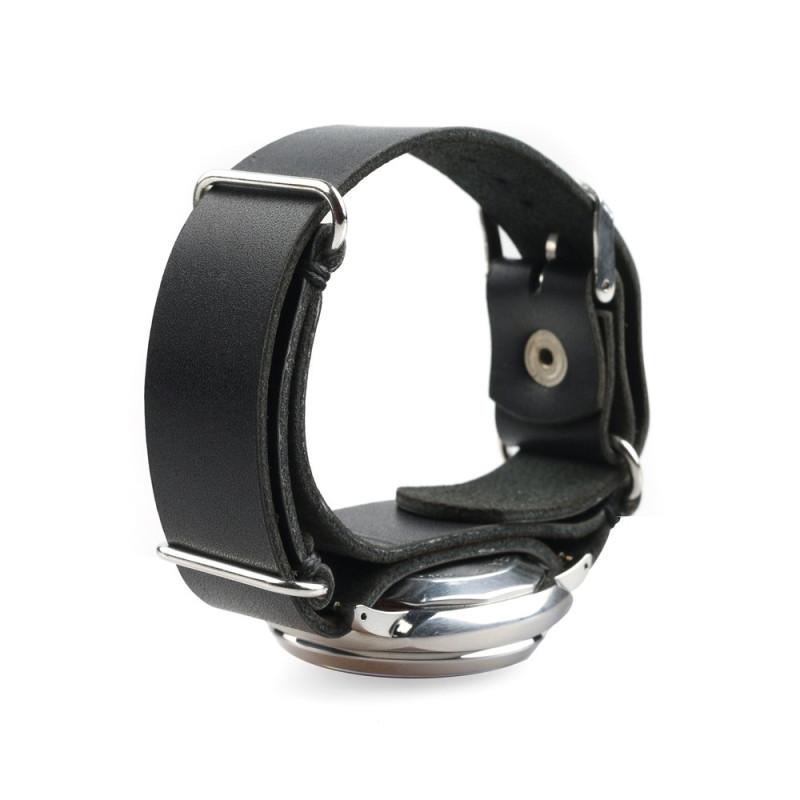 Ballistic Watch Strap in Black