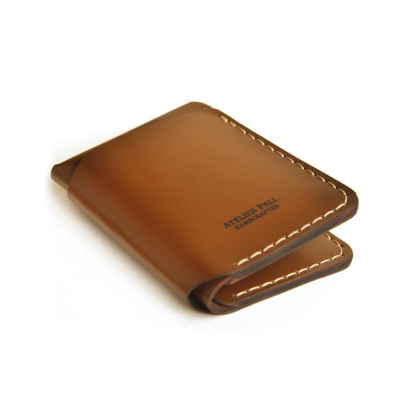 Vertical Bifold Wallet in Black
