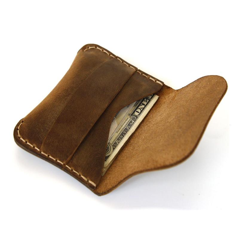 Flap Wallet in Black