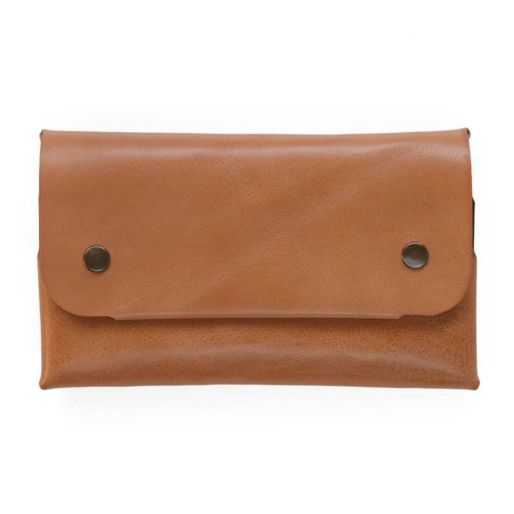 Women Long Wallet in Tan