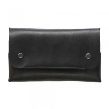 Women Long Wallet in Black