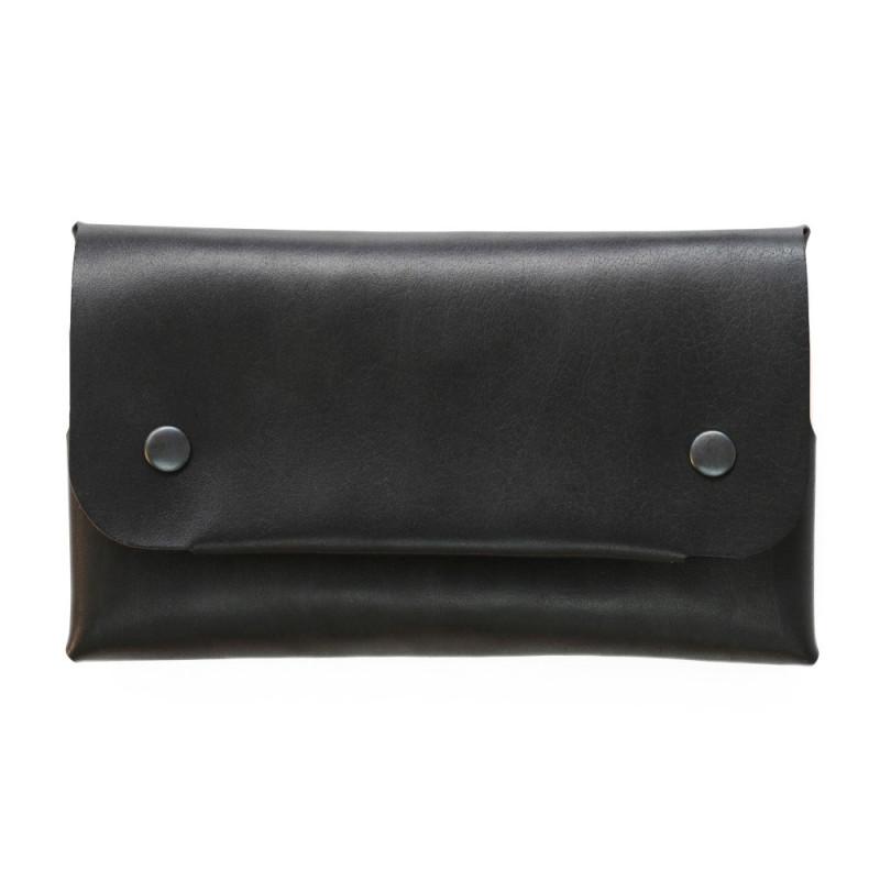 Women Long Wallet in Black