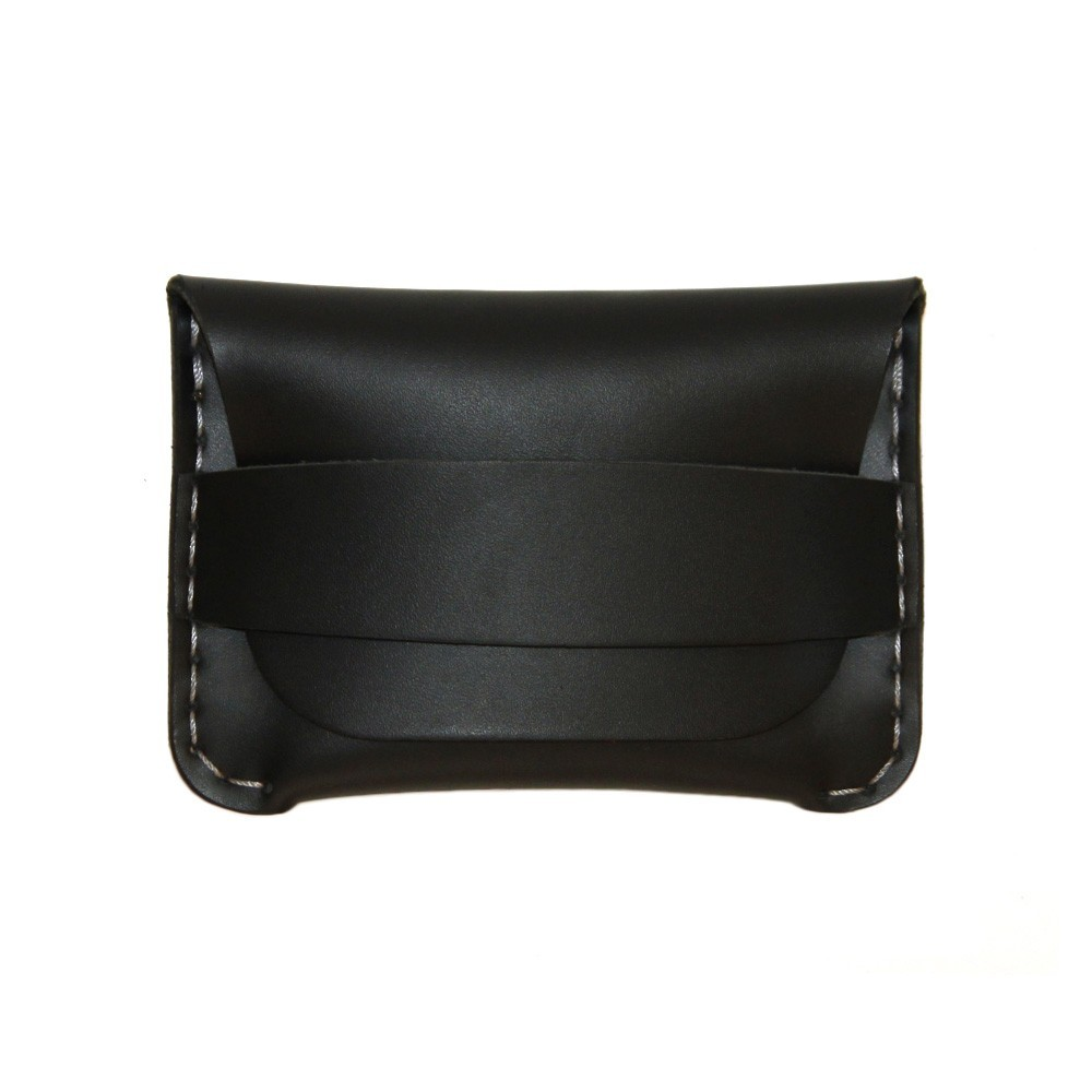 Classic Flap Wallet in Black