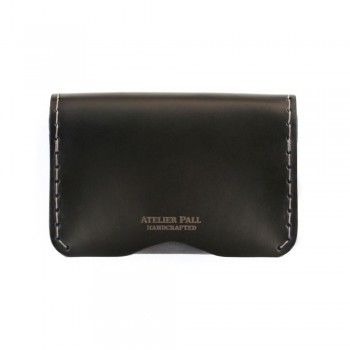 Slim Fold Wallet in Black