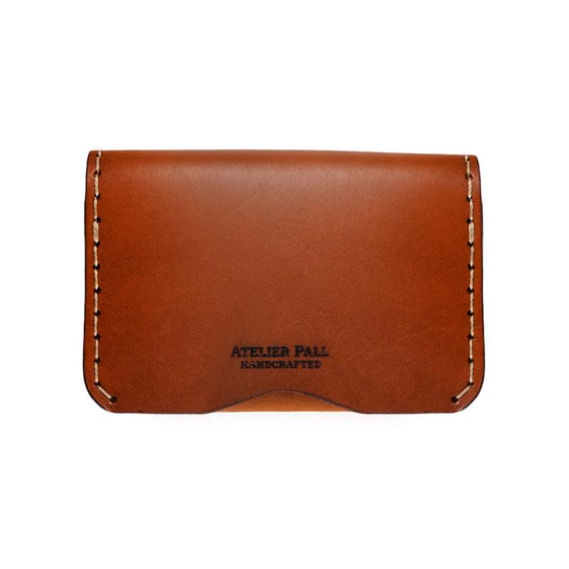 Slim Fold Wallet in Brown