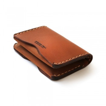 Slim Fold Wallet in Brown