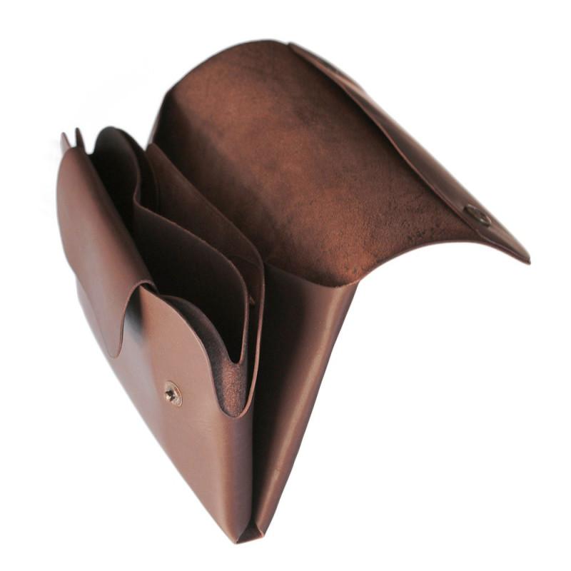Women Long Wallet in Brown