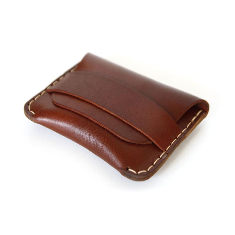 Classic Flap Wallet in Oxblood