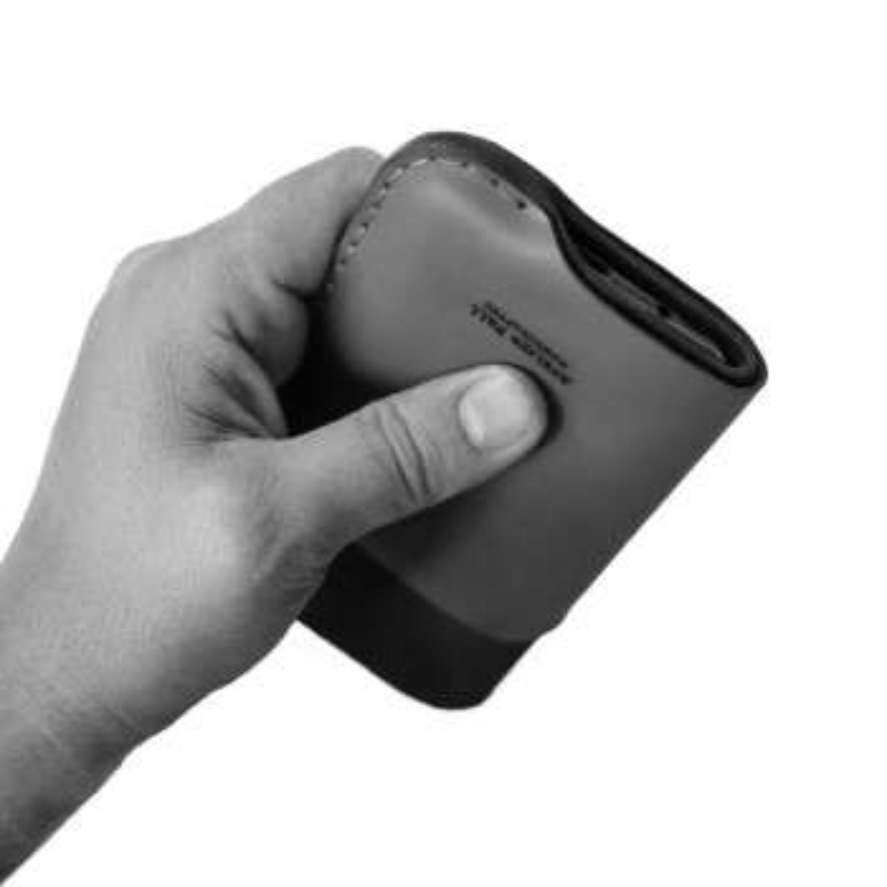 iPhone Card Sleeve in hand