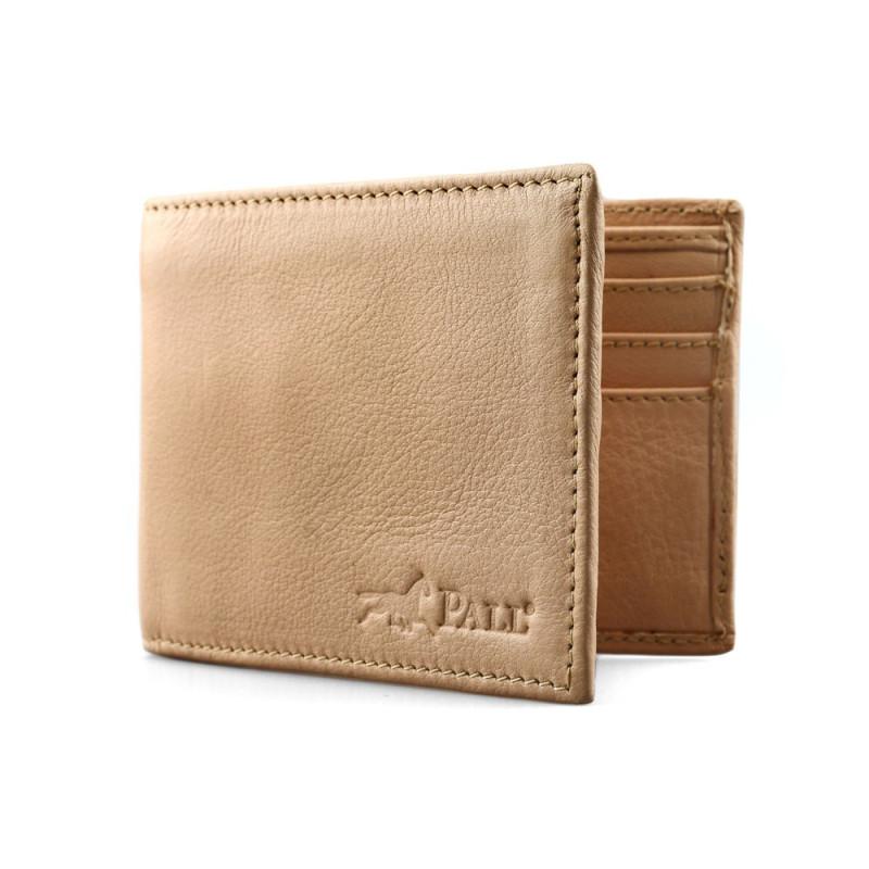Bifold Wallet in Beige