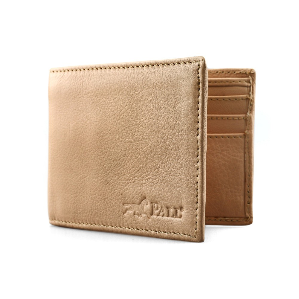 Bifold Wallet in Beige