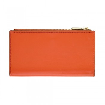 Women Card Wallet in Orange