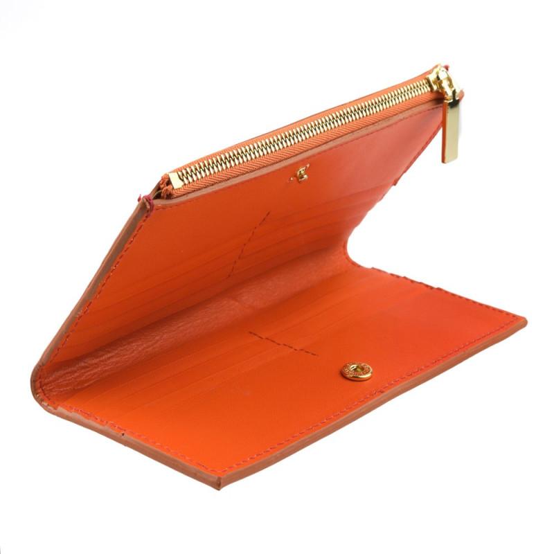 Women Card Wallet in Orange