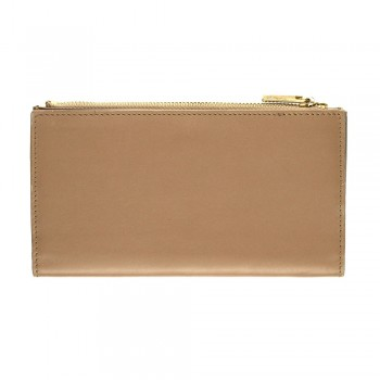 Women Card Wallet in Beige