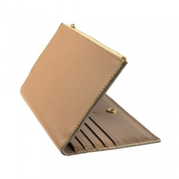 Beige hand purse for women