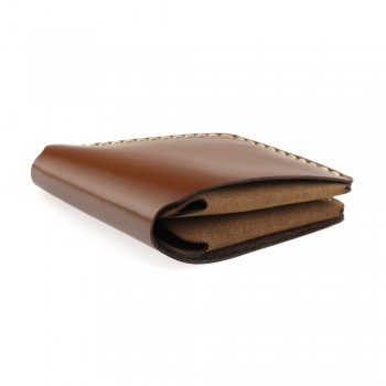 suede and smooth leather wallet