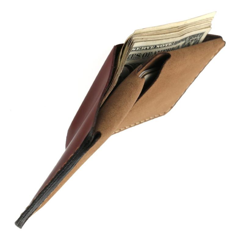 slim dollar bills wallet