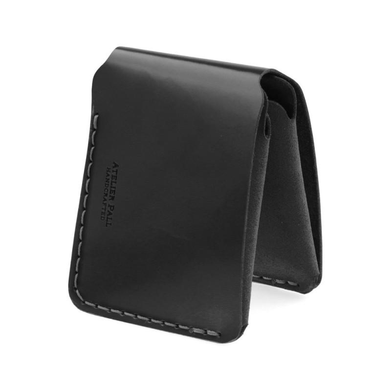 Slim horizontal bifold wallet