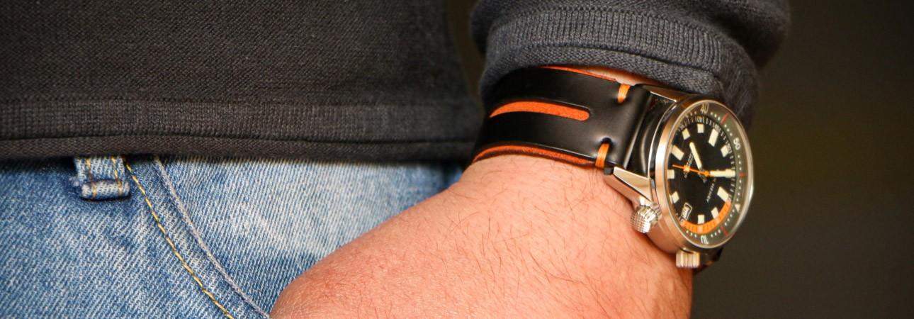 Orange Watch Strap